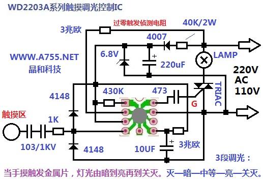 调光可控硅控制ic